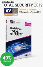 Bitdefender Total Security 2018 - 1 Year (Central Account - eDelivery)