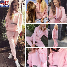 Womens Casual Hoodies Pullover Long Sleeve Casual T Shirt Tops Sweater Blouse US