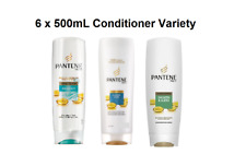 6 x Pantene Pro V Conditioner Classic Care Aqua Light Smooth & Sleek 500mL *MVC*