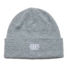 Cap Obey Times Beanie Heather Grey