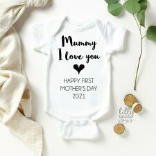 Mummy I Love You Happy First Mother's Day 2017, 1st Mother's Day Gift,