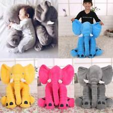 Large Long Nose Elephant Stuffed Animal Plush Toy for Children Kids Baby Pillow