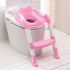 Kids Potty Training Seat with Step Stool Ladder for Child Toddler Toilet ChairXZ