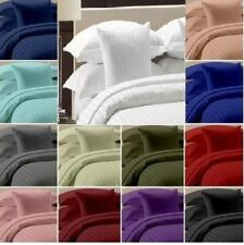 """NEW 6-PIECE STRIPED BED SHEET SET ALL SIZES & COLORS 15"""" DEEP POCKET USA SIZE"""