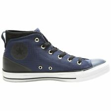 Converse Chuck Taylor All Star Syde Street Mid Midnight Navy Black Mens Trainers