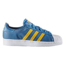 Adidas Superstar F37789 Blue Youths Trainers