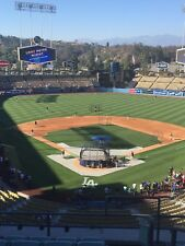 2 tickets Dodgers vs Reds FRIDAY 5/11 Reserve MVP 1 - Row G - Aisle