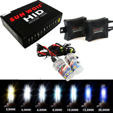 55W HID Xenon Headlight Conversion KIT HID Bulbs H1 H3 H4 H7 H8 H11 4300K-10000K