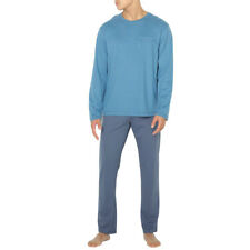 La Redoute Collections Mens Cotton Jersey Long-Sleeved Pyjamas