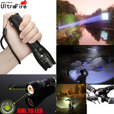 Zoomable Flashlight 20000Lm 5 Modes LED XM-L T6 LED 18650 Battery Torch Focus