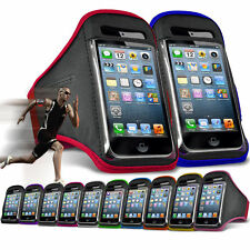"""For HTC One S9 (5"""") Running Jogging Sports Gym Armband Mobile Holder Case Cover"""