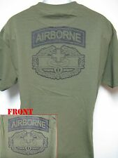AIRBORNE COMBAT MEDIC T-SHIRT/ MILITARY/ ARMY MEDIC T-SHIRT/   NEW