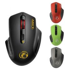 Intelligent 1600DPI PC Gaming Mouse Wireless Optical Mouse w/ USB Receiver