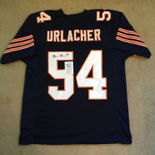 BRIAN URLACHER AUTHENTIC SIGNED AUTOGRAPHED NFL BEARS FOOTBALL JERSEY COA