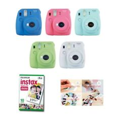 Fujifilm Instax Mini 9 Instant Camera 1 Pack Film + Sticker Gift Fuji 10 Photo 8