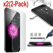 2-Pack For Apple iPhone 4/5/6s 7 Plus Tempered Glass Screen Protector US Stock