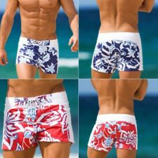 Summer Men's Swimwear Boxers Swimming Trunks Swim Shorts Beach Pants Underwear