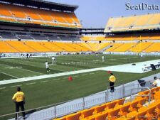 (2) 2018 Steelers 2nd Pre-Season Home Game Tickets 7th Row Lower Level!!