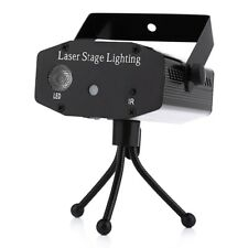 Laser Projector Disco Mini Stage Lighting Club Festival Holiday Party Lamp Led
