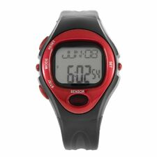 Pulse Heart Rate Monitor Calories Counter Fitness Watch Time Stop Watch Alarm XY