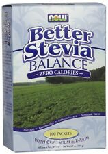 Now Foods - Better Stevia Balance, Zero Calories, 100 Packets, (1.1 g) Each