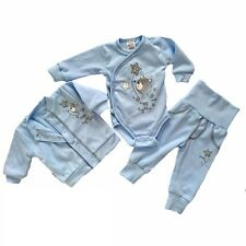 Baby Boys Outfit *Set *3 Pieces 100% SOFT COTTON Christmas Newborn & 0-3 Months