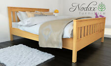 *NODAX*_Wooden Pine King Size Bed 5ft Wooden Bed frame&Slats 'F16'_COLOURS
