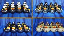 12 Law Enforcement Police, SWAT, Sheriff, or Motorcycle Cop Rubber Ducks Party
