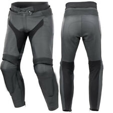 TOP-QUALITY MEN LEATHER TROUSER MOTORBIKE/MOTORCYCLE PANT RACING BIKER TROUSER