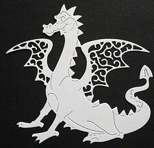 CHOICE OF COLOUR  4 x Dragon  Fairytale Die-Cuts.  Scrapbooking, Cardmaking