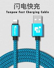 STRONG BRAIDED USB DATA SYNC CHARGER CABLE LEAD for iPhone 6  7 8 Plus