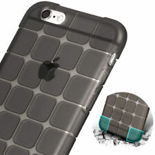 Cubic Soft TPU Anti Shock Back Shockproof Cover Case For Apple iPhone Models