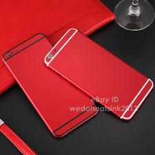 Brand New Red Alloy Metal Back Battery Housing Cover For iPhone 6/6s & Plus