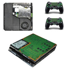 Vinyl Decal Cover Skin Sticker for Sony Playstation PS4 Slim Console Controllers