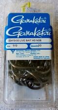 Gamakatsu Heavy Duty Live Bait Hook 25/pk, 50/pk or 100/pk