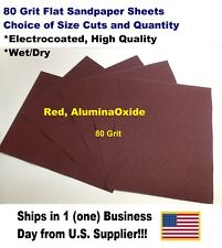 "WET/DRY SANDPAPER SHEETS 9""X11"" -CHOICE OF GRIT AND QUANTITY"
