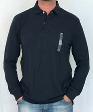 100% AUTHENTIC MENS DESIGNER TOMMY HILFIGER LONG SLEEVE POLO BLUE SIZE M OR L