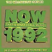 Now That's What I Call Music! 1992 (Millennium Series) CD VGC FREE POSTAGE
