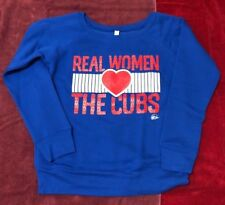 Real Women Love The Cubs - Chicago Cubs Sweater (Wide Neck)