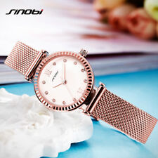 Sinobi Women Watches Brand Luxury Diamond Gold Watch Ladies Quartz Wristwatch Wo