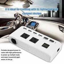 500W Car Power Inverter DC 12V to AC 110/220V Converter 4 USB Port 2 AC Outlet H