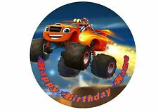 Blaze and the Monster Machines Rice / Wafer Paper or Icing Cake Topper 20cm #6