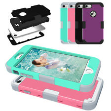 For iPhone 7 4.7'' Hot Armor Hybrid Heavy Duty Shockproof Rubber Hard Case Cover