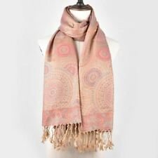 Floral Pattern Cotton Fabric Square Shape Oversize Scarf For Women