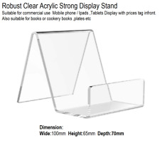 Mobile Phone,Tablet,CookBook,Acrylic Display Stand Perspex Retail Holder