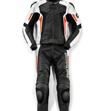 BMW MOTORBIKE LEATHER SUIT MOTORCYCLE MEN RACING BIKER LEATHER JACKETS TROUSER