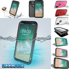 Stander Silicone Rubber Waterproof Shockproof Case Cover For Apple iPhone X New