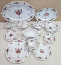"""Sango China """"Dresden Rose"""" Porcelain China Plates, Bowls, Cups, etc. - by piece"""