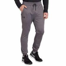 Under Armour Mens Pants Jogger Dark Gray Grey Storm Fleece Gym Athletic Running