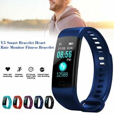 Y5 Smart Bracelet Heart Rate Monitor Fitness Blood Pressure Activity Tracker E